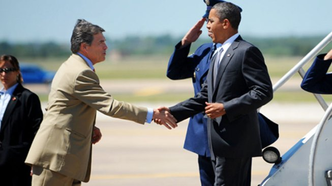 Perry, Obama Earn Majority Support from Texans