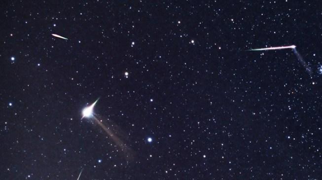 Perseid Meteor Shower to Light Up Skies This Weekend