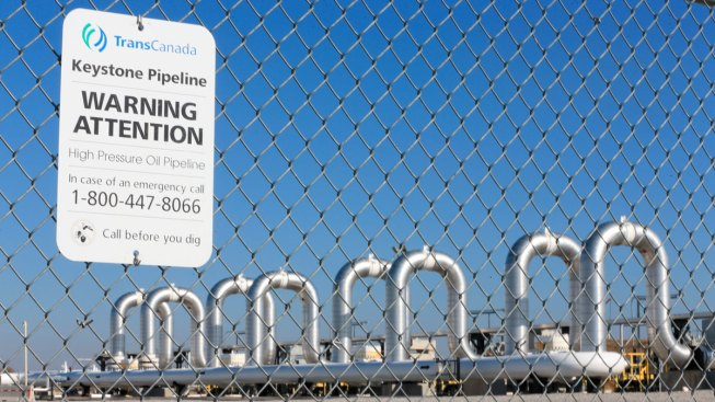 Keystone Pipeline Closed Through Several States After Leak as Project Extension Vote Nears