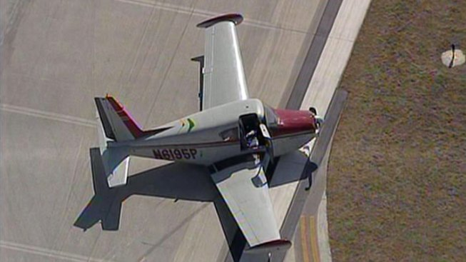 Plane Gear Collapses Upon Landing at McKinney Airport