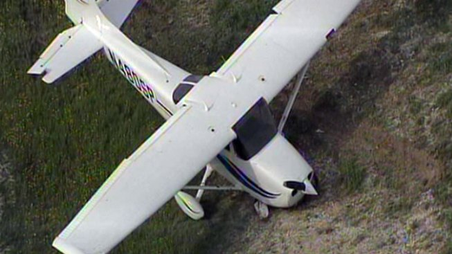 Plane Crashes at Ellis County's Mid-Way Regional Airport