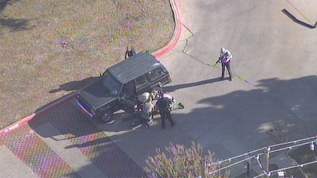 Chase Ends at Denton Apartment Complex
