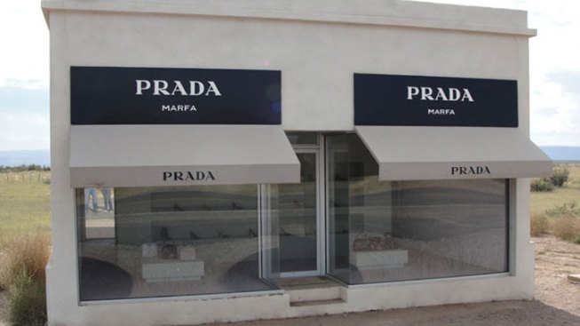Prada Marfa Art Site Vandalized Again