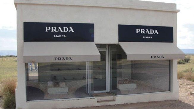 Prada Marfa Art Site Vandalized Again