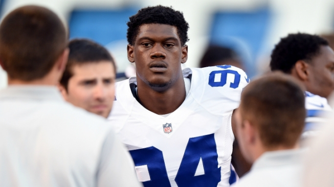 "Randy Gregory Still ""Fighting Through"" Lingering Effects of Ankle Injury"