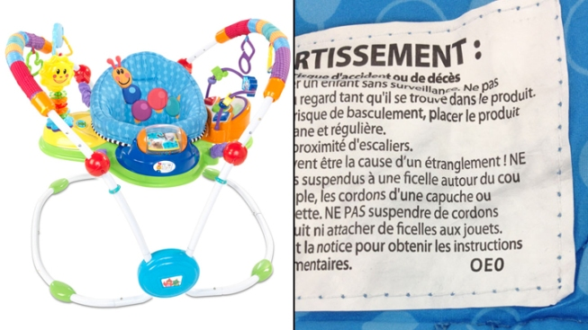 "400,000 Baby ""Jumper"" Toys Recalled"