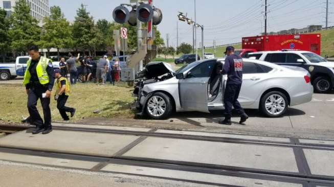 Some DART Trains Delayed After Crash With Car Near Arapaho Station