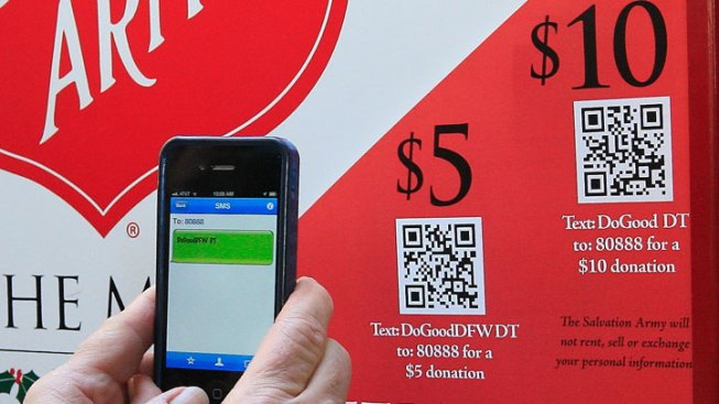 Red Kettle Donations Going High-Tech