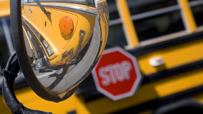 Weatherford School Bus Victim of Hit-and-Run