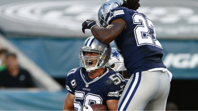 Sean Lee Named NFC Defensive Player of the Week