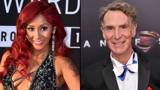 """New """"Dancing with the Stars"""" Cast Revealed: Snooki, Bill Nye, Leah Remini"""