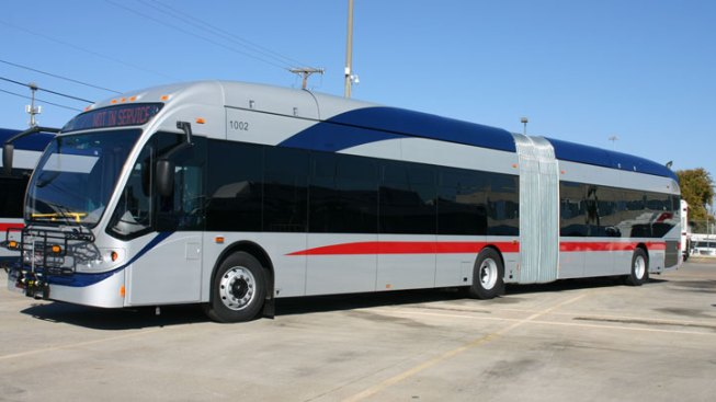 Articulated Buses Coming to Fort Worth