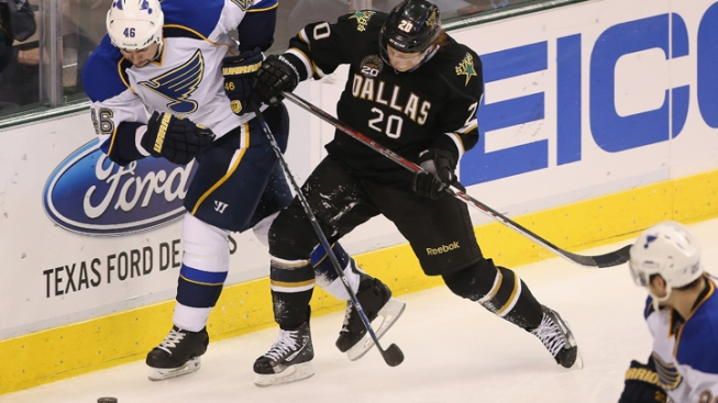 Blues Slip Past Stars 4-3