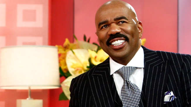 Steve Harvey Focused on Show and Youth