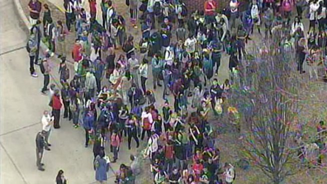 Students Return to RL Turner After Evacuation