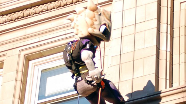 Rappel Off a Building in Fort Worth This Weekend