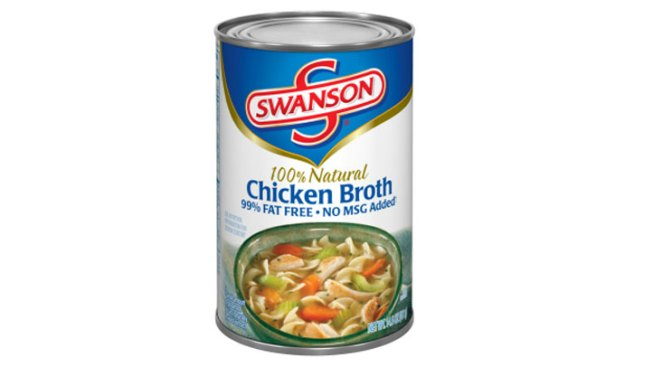 Campbell Recalls Cans Labeled as Chicken Broth