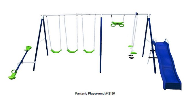 Swing Sets Sold in Texas Recalled