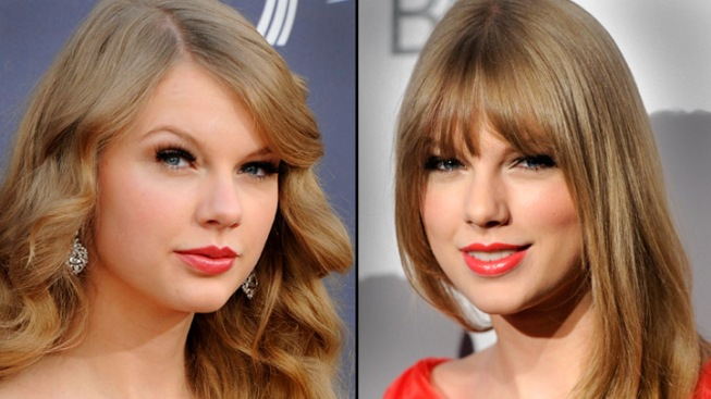 Taylor Swift Gets Bangs in a New Haircut