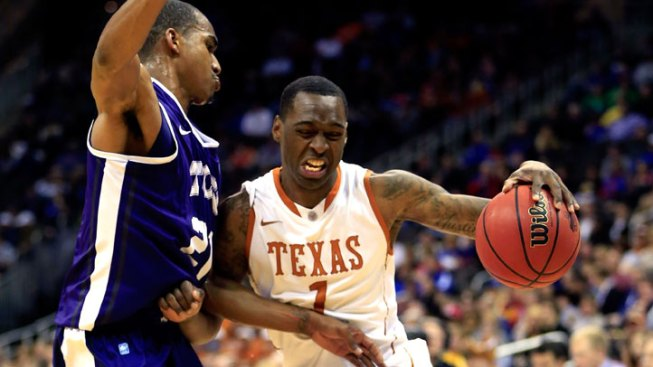 Texas Gets Past TCU in Big 12 Tourney