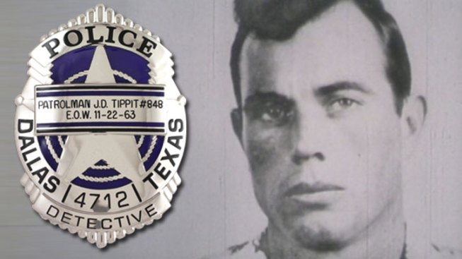 Dallas Police Offer Tippit Tribute Badge