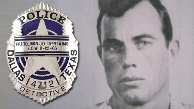 Dallas Police Offer Tippit Tribute Badge - NBC 5 Dallas-Fort