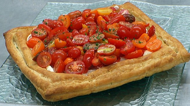 Chef Gwin Grimes Shares Tomato Tart Recipe