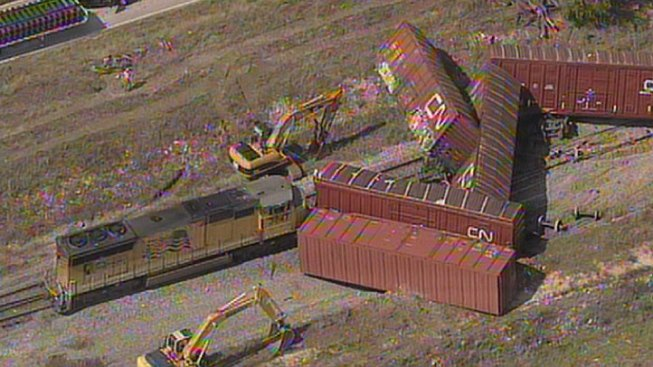 UP Line in Benbrook Reopens After Derailment
