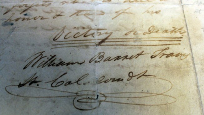 Archives Commission to Decide on Historical Travis Letter