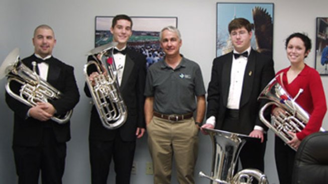 UNT Offering Tuba Serenades for Valentine's Day