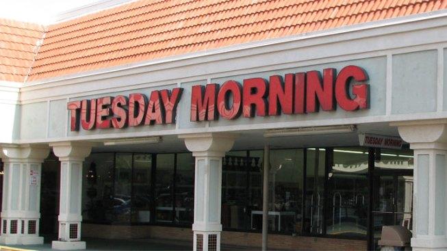 Tuesday Morning Fires CEO Kathleen Mason