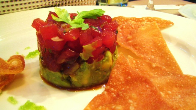 Twenty at the Tower Recipe: Spicy Tuna Tartar
