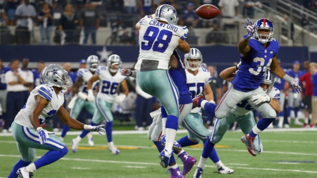 Cowboys Restructure Crawford's Deal, Save $4.4 Million in Cap Space