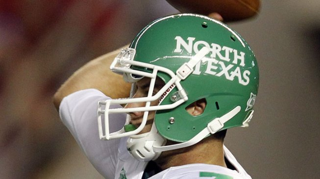 North Texas Wearing Throwback Uniforms for Opener