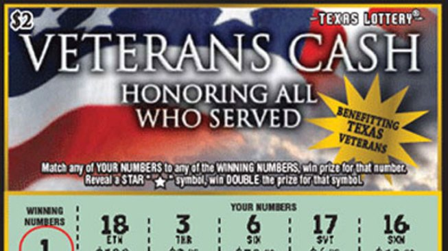Sales Plummet for Lottery Game Benefiting Veterans