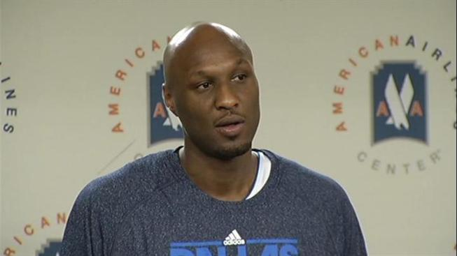 Odom Doesn't Disappoint in Mavs Debut
