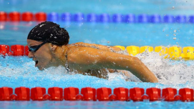 Vollmer, Team USA Headed to Finals in 4x200m Freestyle Relay