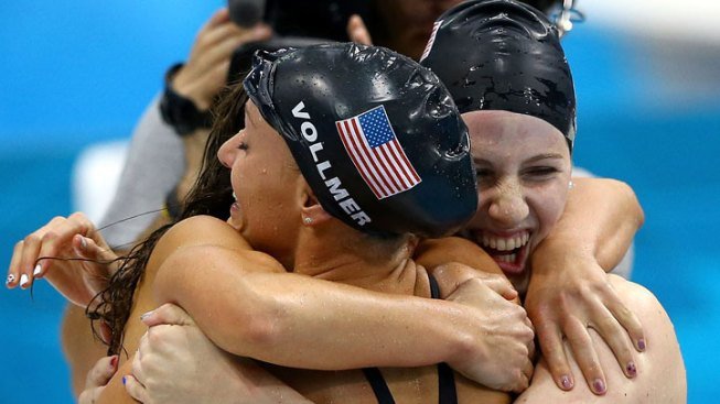 Vollmer & Co. Win Gold, Set World Record in 4x100m Medley Relay