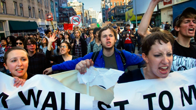 Occupy Wall Street Spin-Offs Arrive in Texas