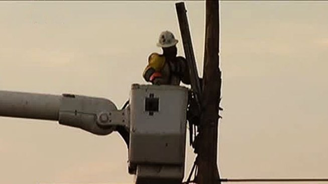 Thousands Without Power After Strong Storms