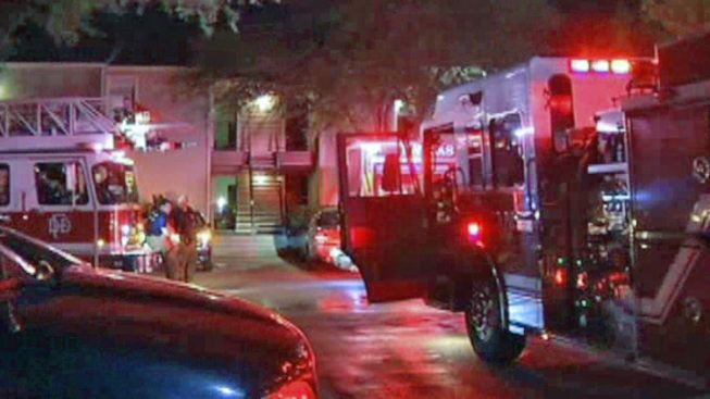 Apartment Fire Sends One To The Hospital