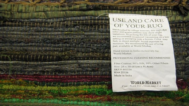 Recycled Silk Mats Sold in TX on Recall List
