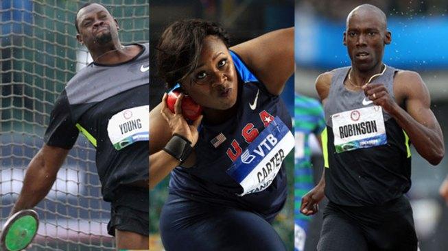 Three North Texas Track Stars Compete Monday