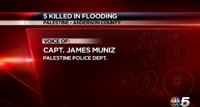 Grandmother, 4 Children Killed in East Texas Floods