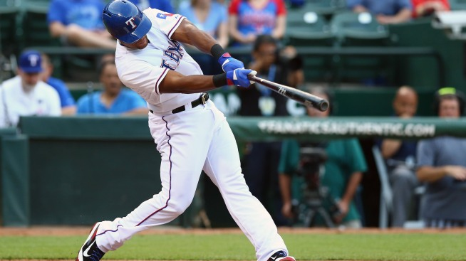 Rangers' Adrian Beltre Hits 3rd Career Cycle