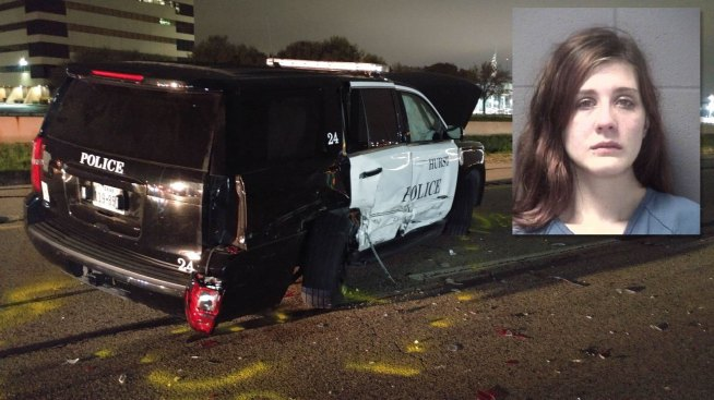 Officer's Tahoe Hit in DWI Accident: Hurst Police