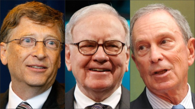 40 Billionaires Pledge to Donate Half Their Wealth