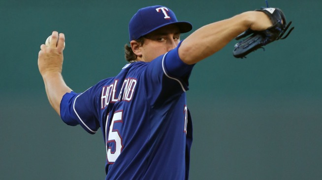Rangers' Pitcher Derek Holland on 60-Day Disabled List