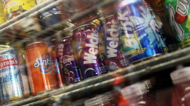 House Bill Would Limit Sugary Drinks in Schools