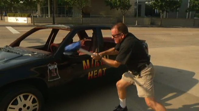 Mavs Fans Beat the Heat